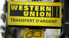Western Union outdoor sign