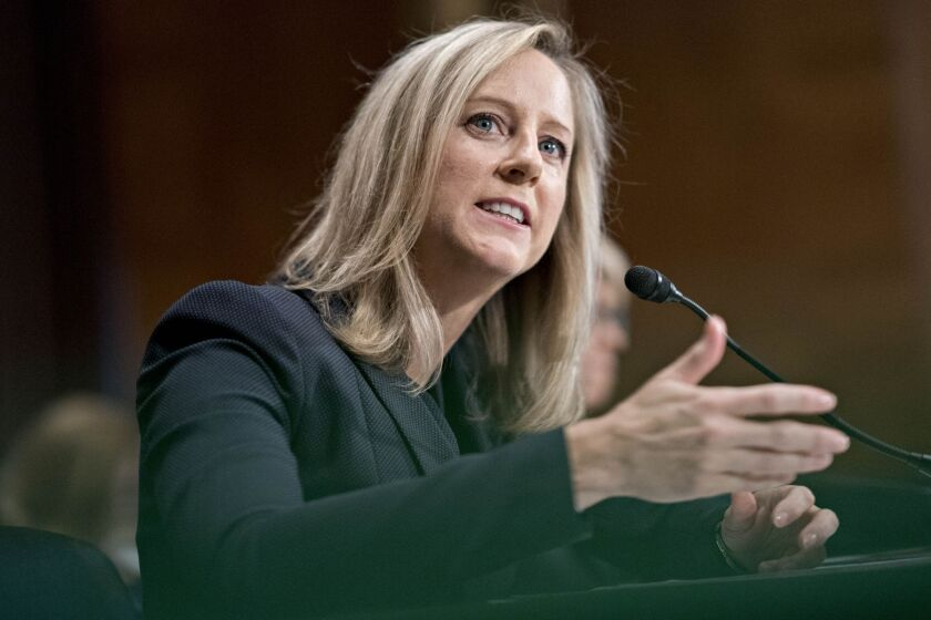 """I have reiterated my view that supervision is the heart of this agency,"" said CFPB Director Kathy Kraninger in a speech last year."