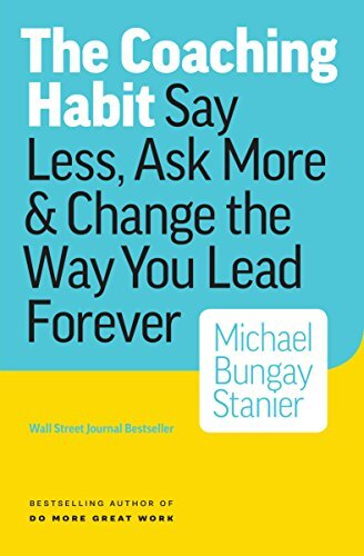 Book cover - Coaching Habit
