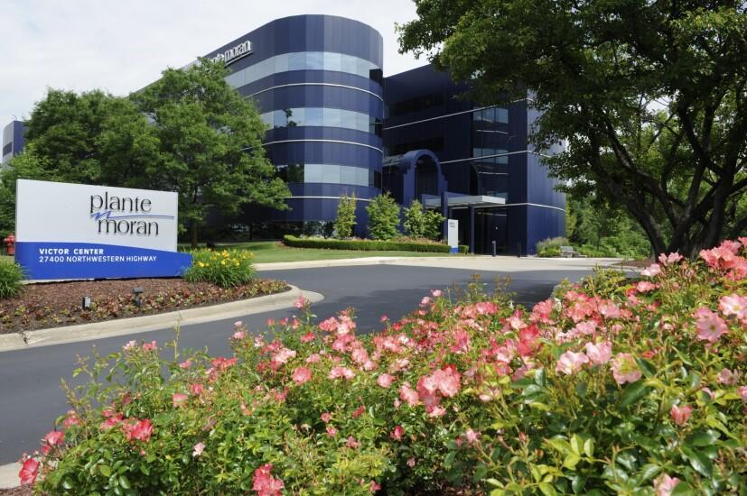 Plante Moran office in Southfield, Michigan