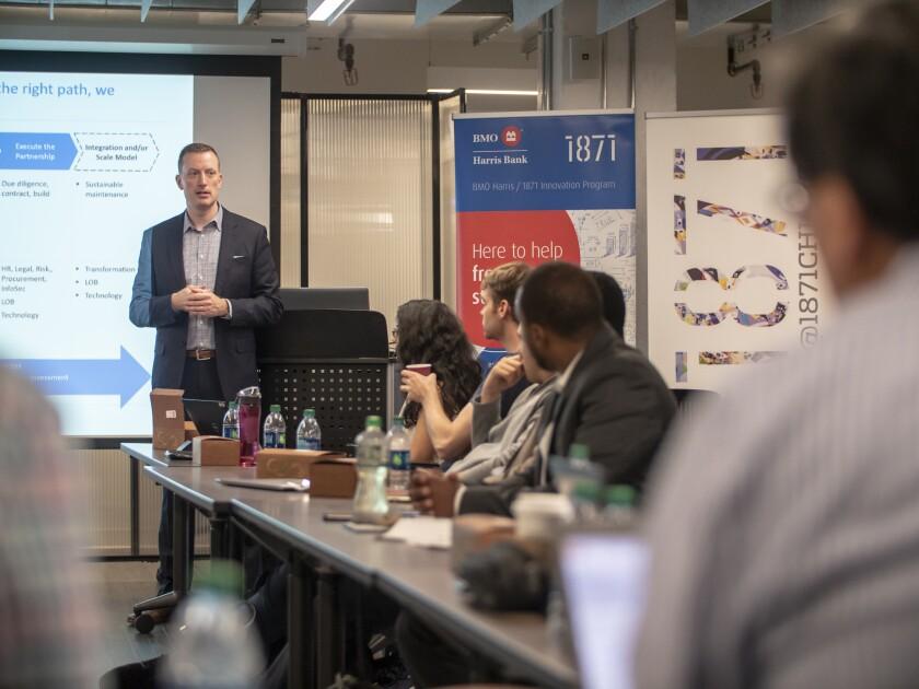 Ben Schack, head of digital partnerships for BMO Harris Bank