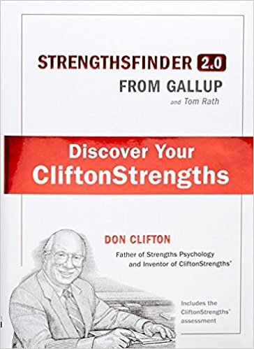 Book cover - StrengthsFinder