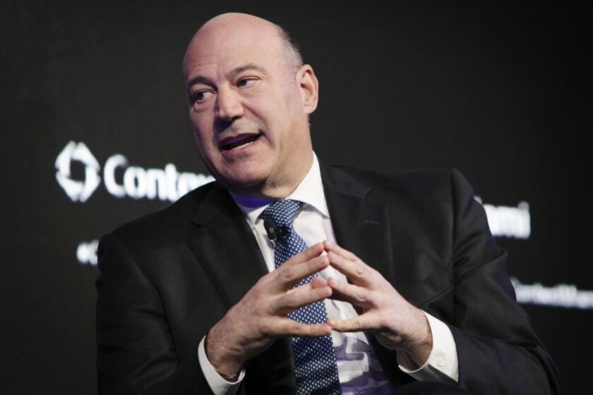 """""""I just don't think you can really be a one- or two- or three-branch regional bank in this world with the legal component, regulatory and digital needs that you have today,"""" said former National Economic Council Director Gary Cohn."""