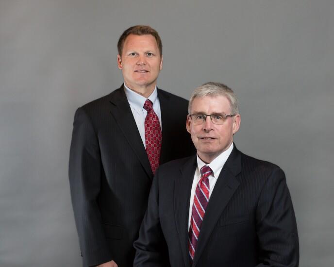 Andrew Kjolsrud, left, and Richard Cisar