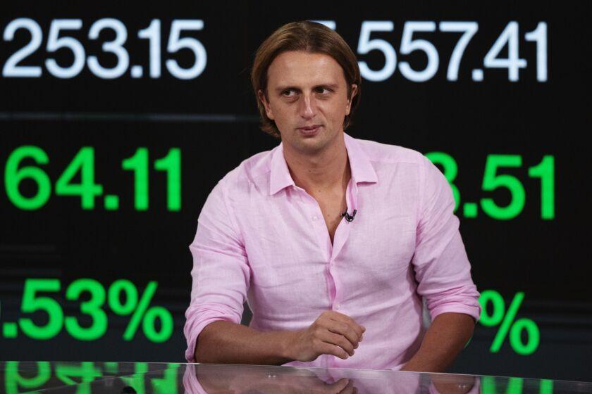 Nikolay Storonsky, chief executive officer of Revolut Ltd.