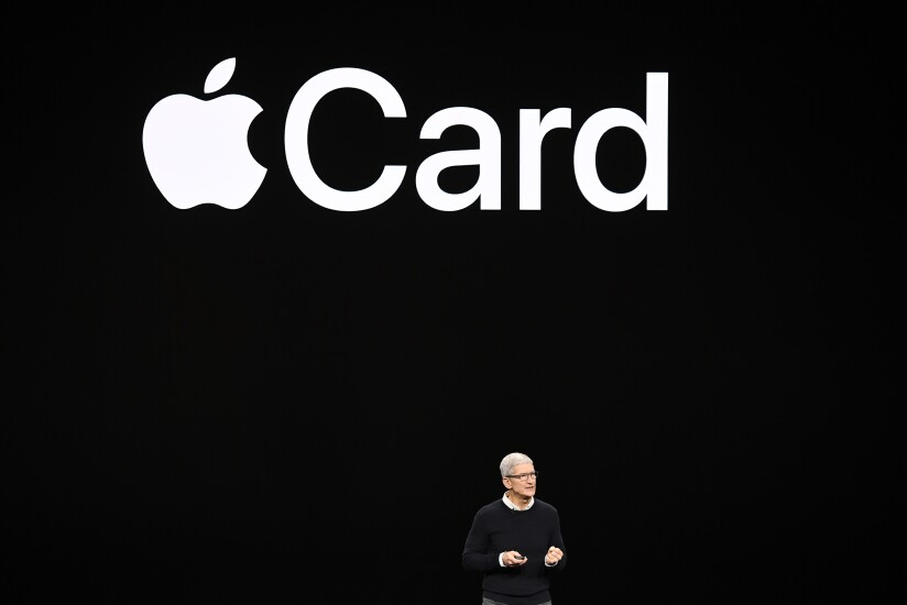 Tim Cook presents Apple Card