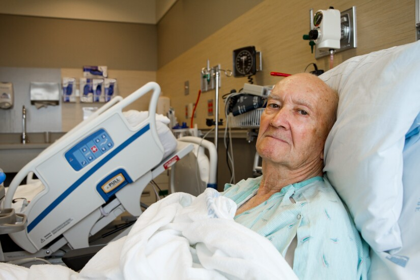 Senior-getting-health-care