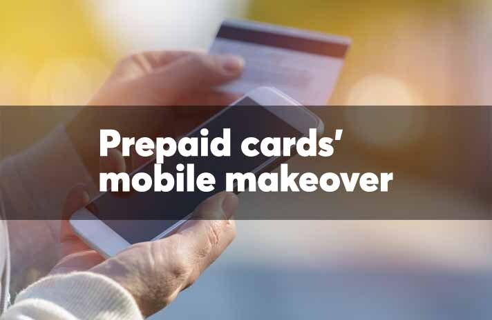 Prepaid cards' mobile makeover