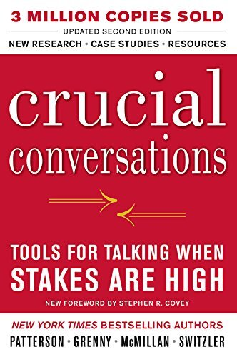 Book cover - Crucial Conversations