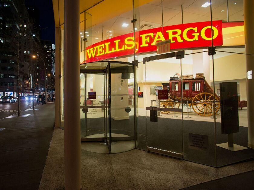 Wells Fargo had 274,900 employees as of Sept. 30.