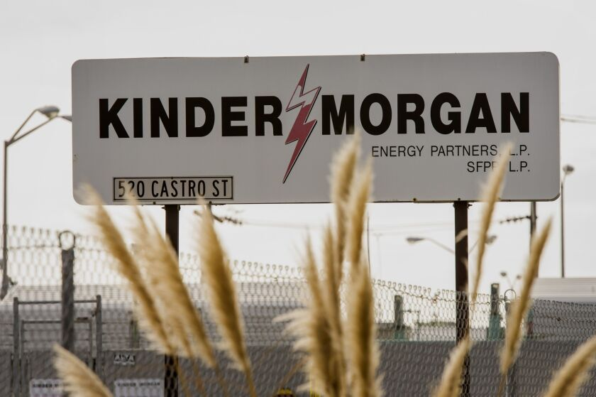 The client had been an employee of Kinder Morgan and had participated in its ERISA-governed savings plan
