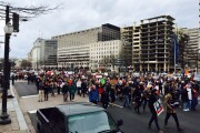 Protests during Washington D.C. against the Trump travel ban