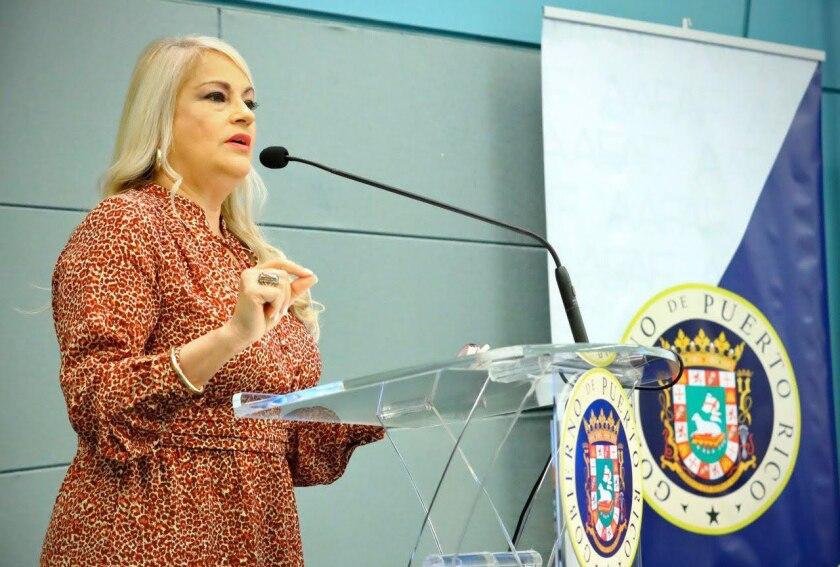 Puerto Rico Gov. Wanda Vazquez