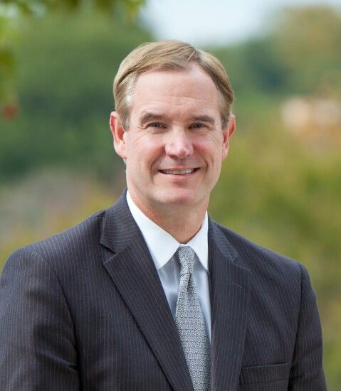 Kevin Blair, COO and CFO of Synovus Financial in Columbus, Ga.