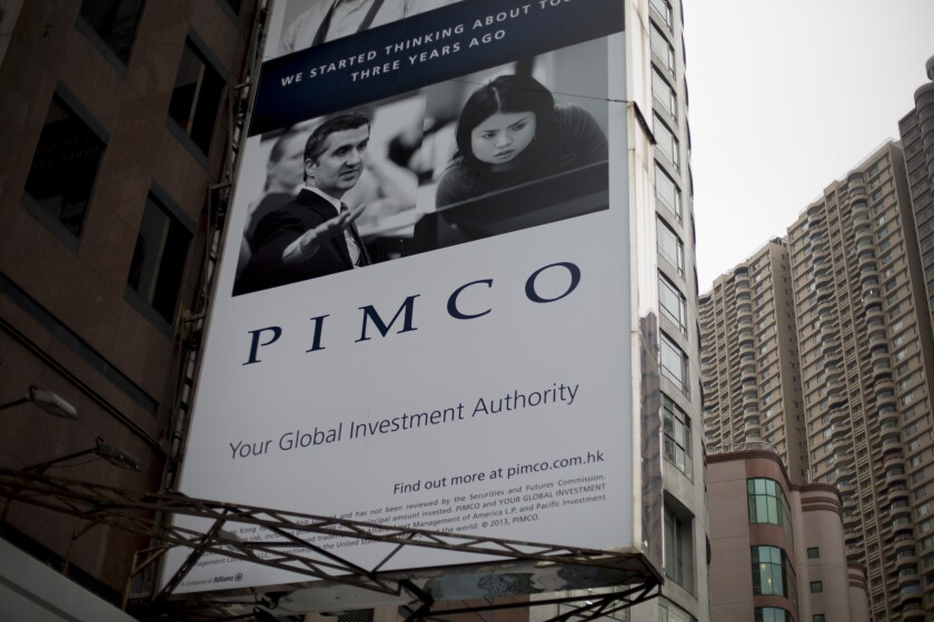 """Risk-retention requirements have had a """"chilling effect"""" on the market for mortgage bonds that lack a government guarantee, Pimco said."""