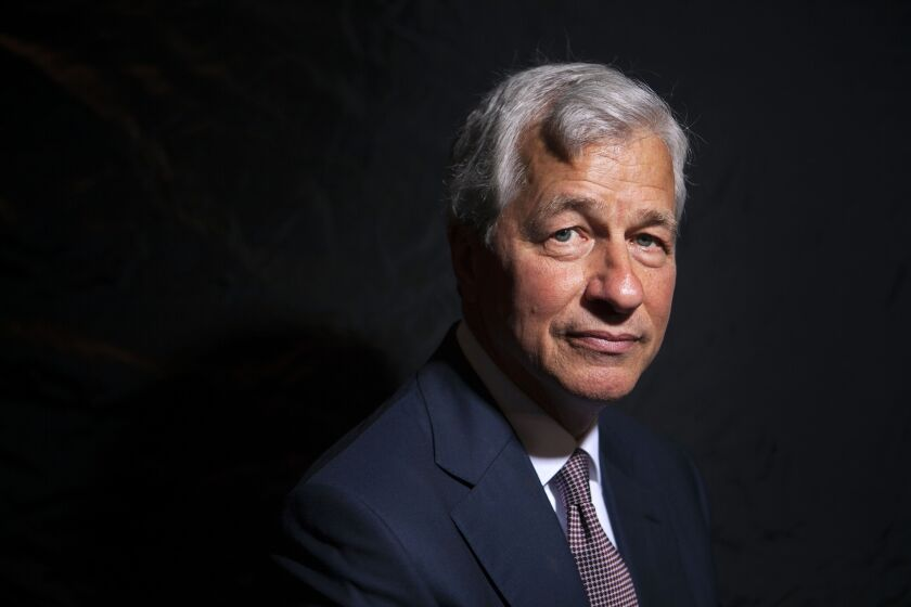 Jamie Dimon, chief executive officer of JPMorgan Chase.