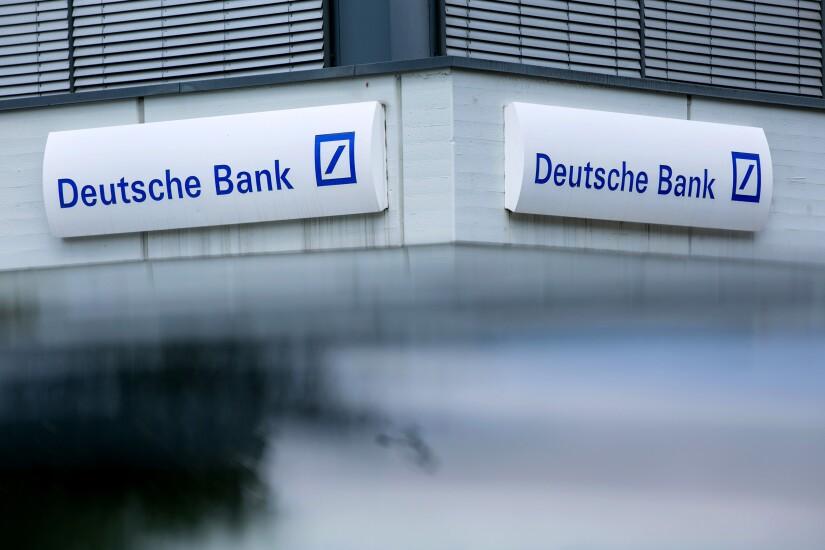 Deutsche Bank by Bloomberg News