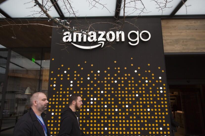 The Amazon Go storefront