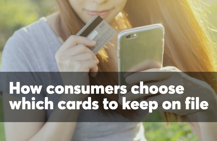 How consumers choose which cards to keep on file