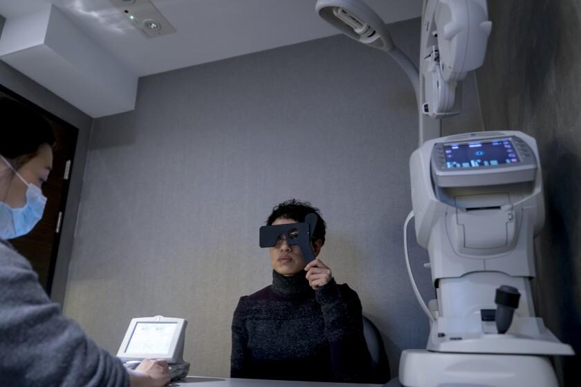 Inside A C-Mer Eye Care Holdings Ltd. Eye Center