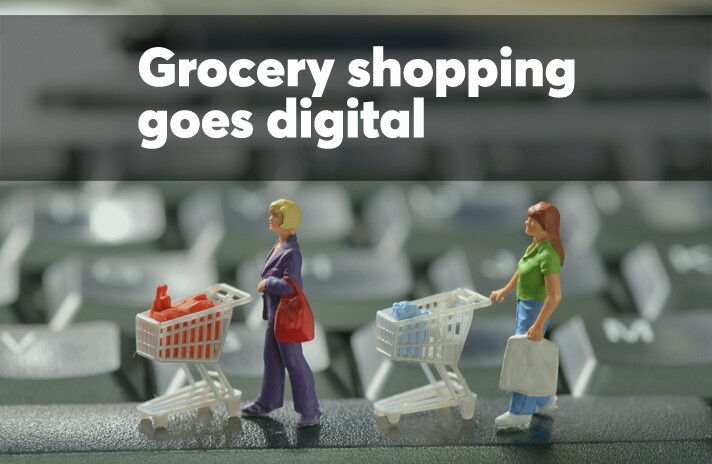Grocery shopping goes digital