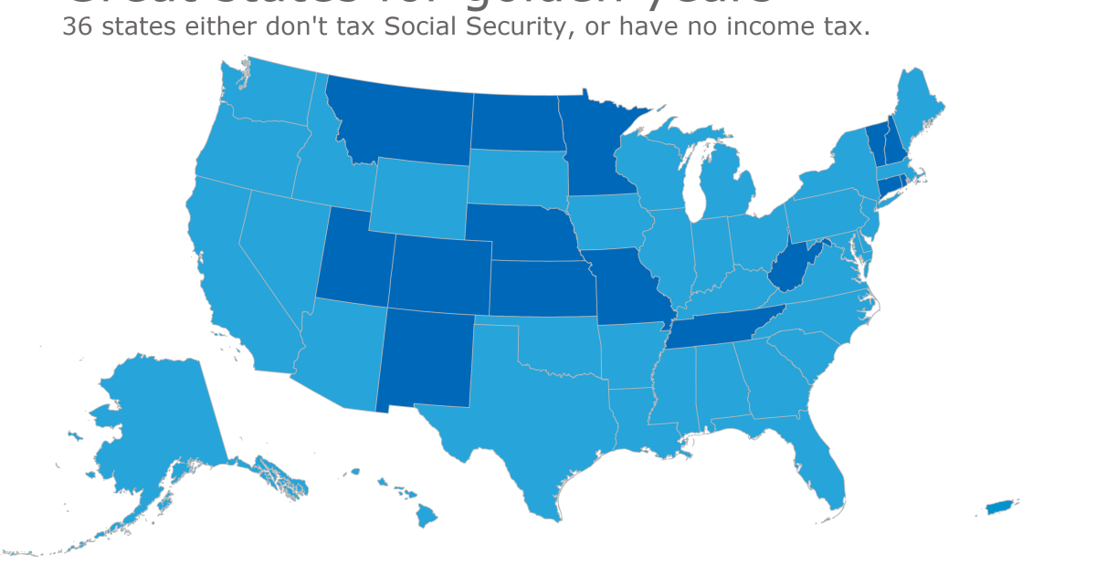 Finding A Tax Friendly State For Retirement Accounting Today