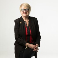 Laurie Stewart, president and CEO of Sound Community Bank and Sound Financial.