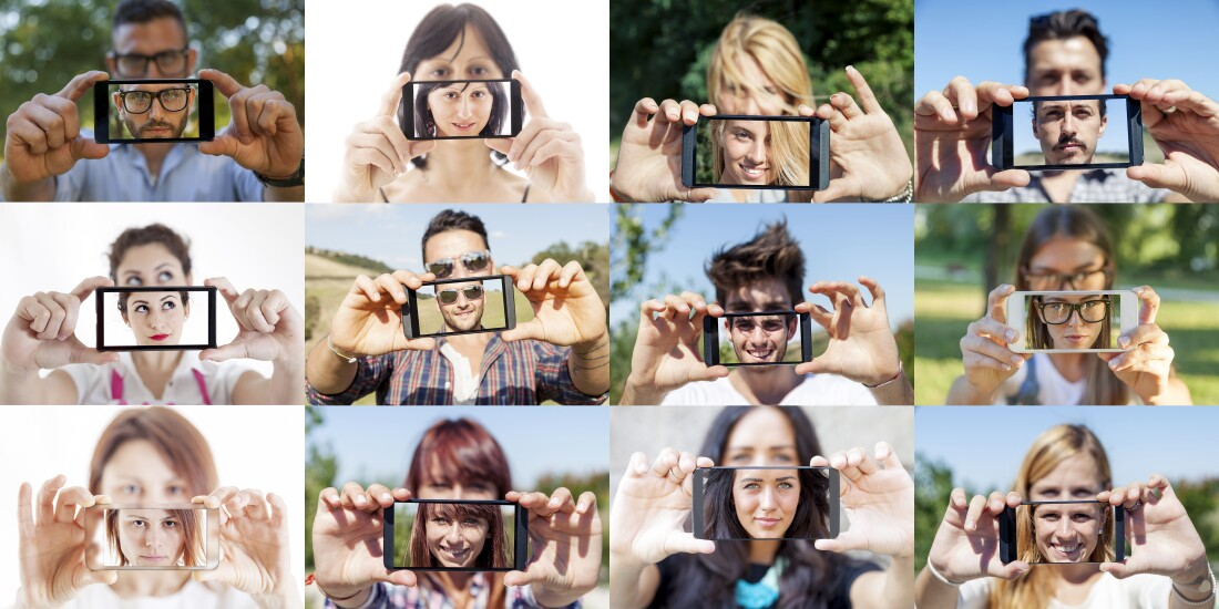 selfie montage