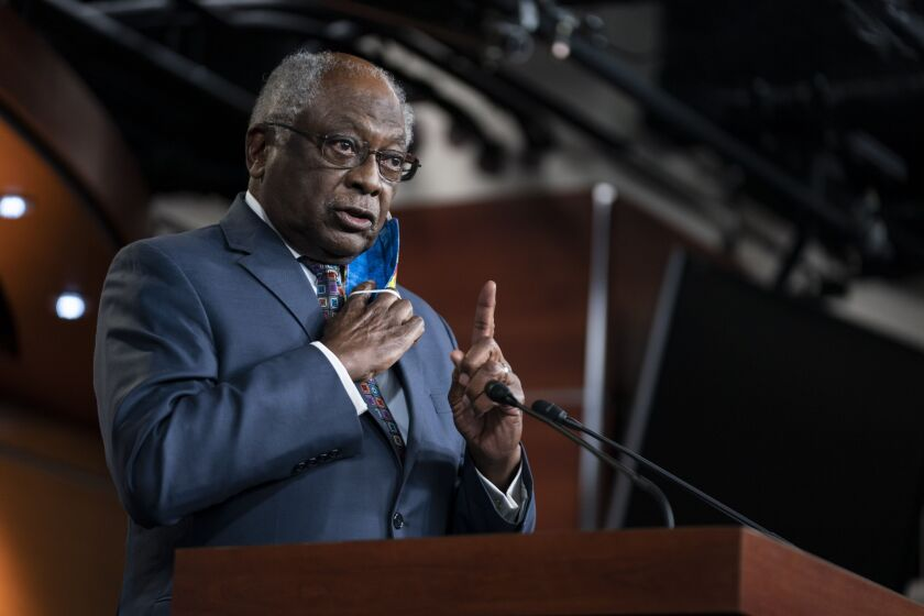The letters, signed by Reps. Jim Clyburn, D-S.C., and other House Democrats, followed reports that that some large lenders created a two-tiered system for applying for PPP funds.