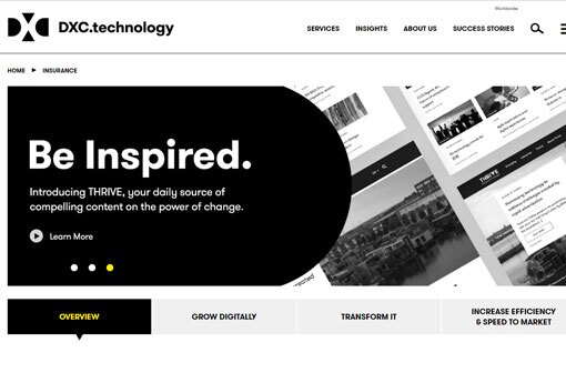 DXC home page