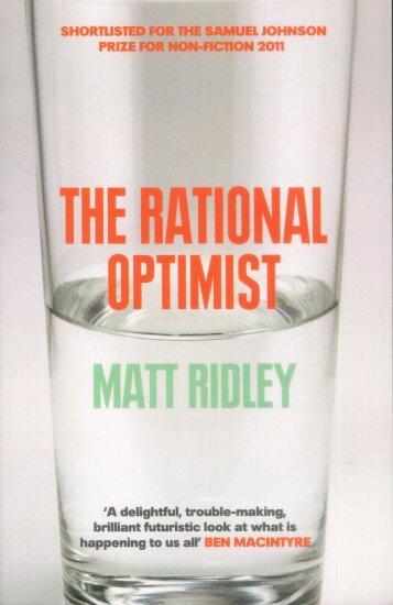 Rational Optimist Matt Ridley