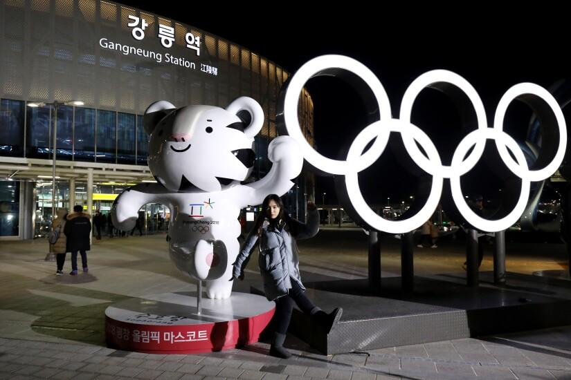 The 2018 PyeongChang Winter Olympic Games mascot, Soohorang