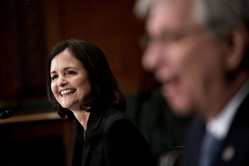 Judy Shelton — who has drawn sharp criticism for her unorthodox views on monetary policy — could still fall short before the full Senate, where four Republican defections could block her confirmation.