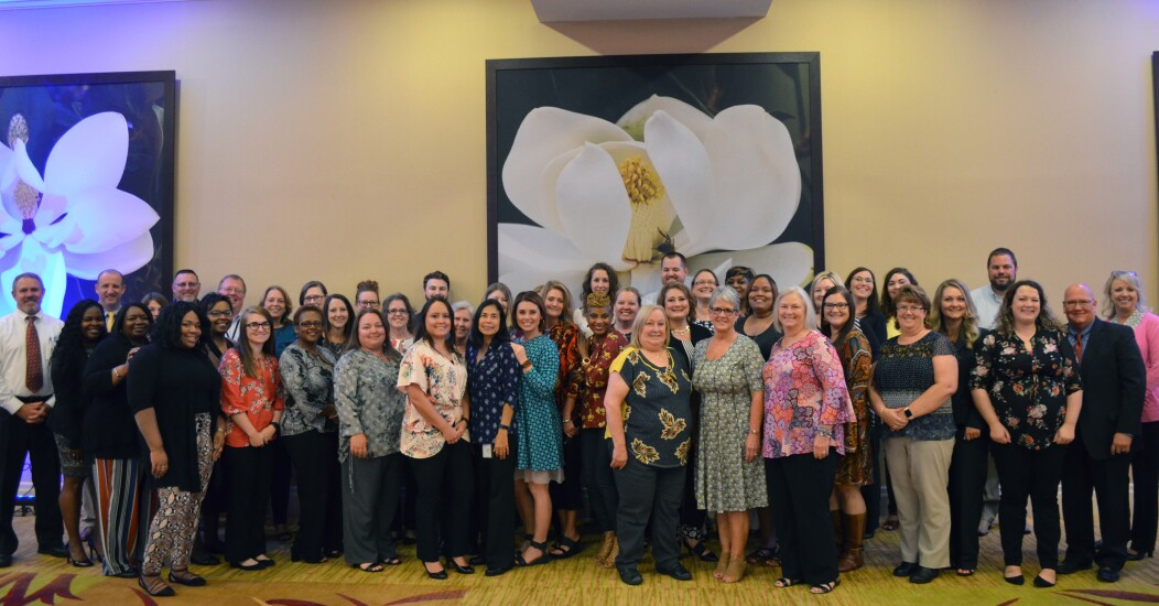 Robins Financial CU honors employees who have been with the credit union for at least five years as part of an annual banquet.