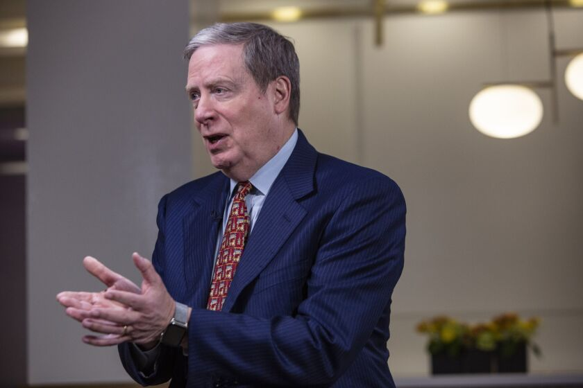 During an Economic Club of New York webcast, Stan Druckenmiller said the risk-reward calculation for equities was the worst he'd seen in his career. The S&P 500 has since climbed 18%.