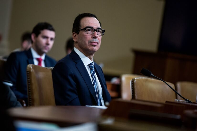 Treasury Secretary Mnuchin Testifies To House Ways And Means Committee On 2020 Budget