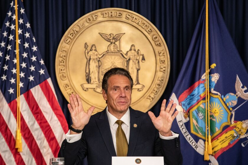 Gov. Andrew Cuomo, a Democrat, signed the New York State Small Business Truth in Lending Act into law late Wednesday.