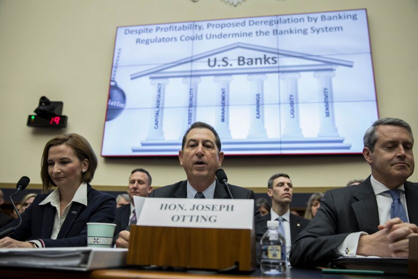 Joseph Otting, comptroller of the currency