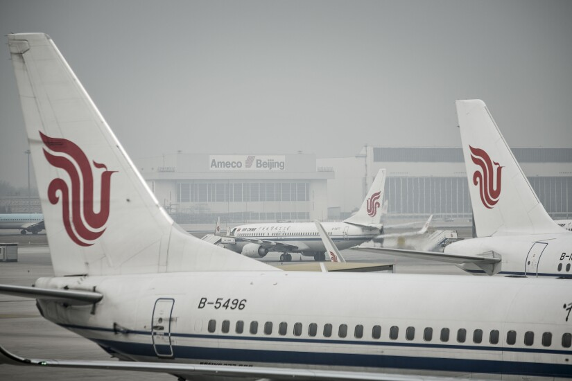 Air China aircraft