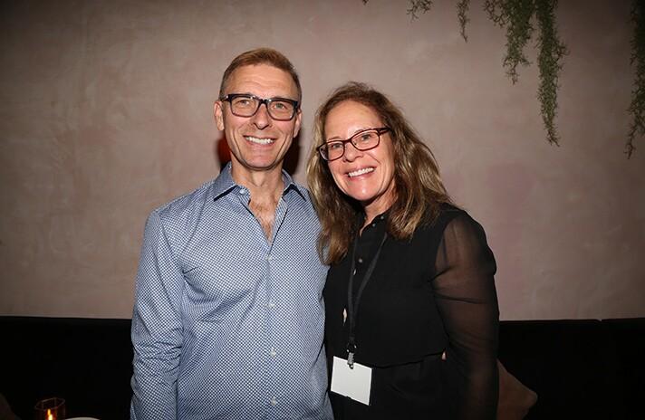 Helga Houston and Hal Houston.