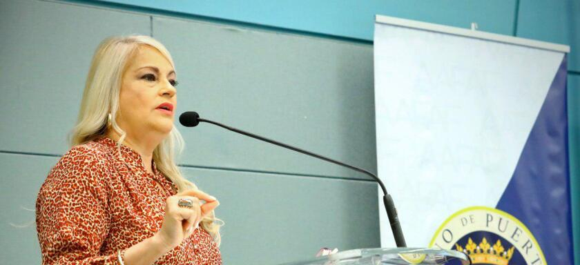 Puerto Rico Governor Wanda Vazquez Garced