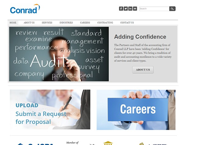 Best firms - conrad web site
