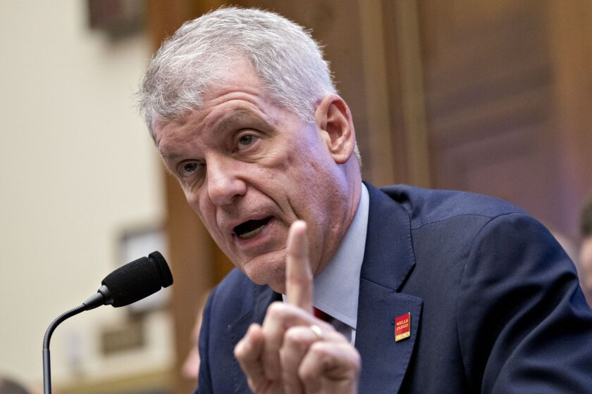 Former Wells Fargo CEO Tim Sloan told Congress last year that the bank was fully complying with an enforcement order tied to car insurance product, a claim that was later disputed by regulators.
