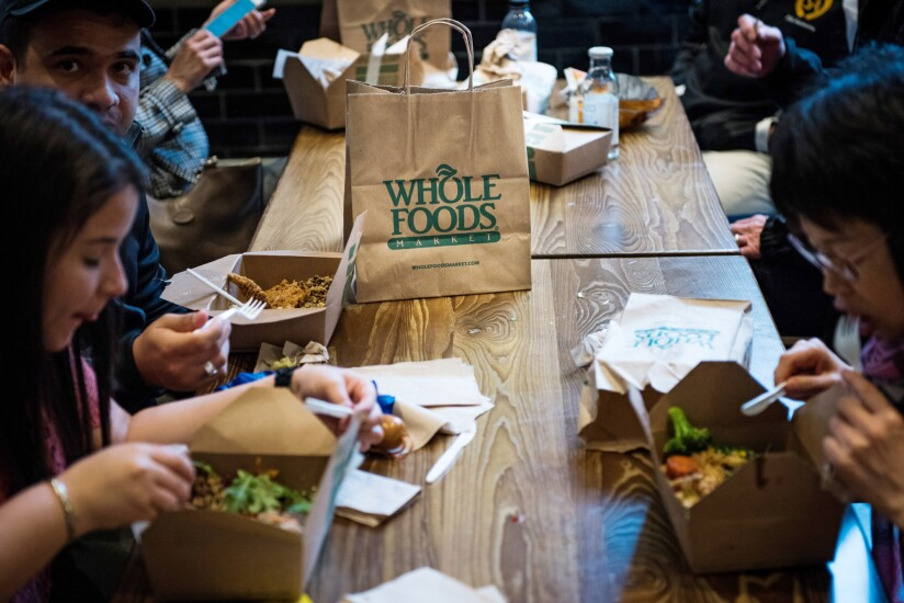 Whole Foods meals