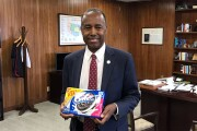 """HUD Secretary Ben Carson tweeted out a picture of himself posing with a bag of Oreo Cookies after he misunderstood a question from Rep. Katie Porter, D-Calif., who asked about """"REO."""""""