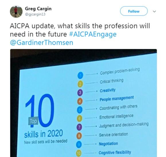 Engage 2018 - 10 skills