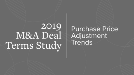 Purchase price adjustment trends