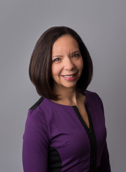 Mona Shand, a former credit union professional running for a seat in Michigan's House of Representatives.