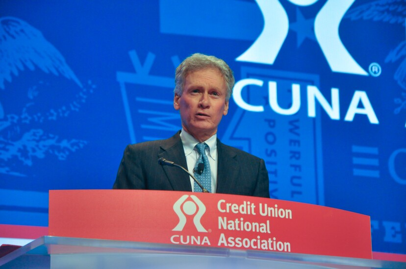 NCUA Chairman Mark McWatters