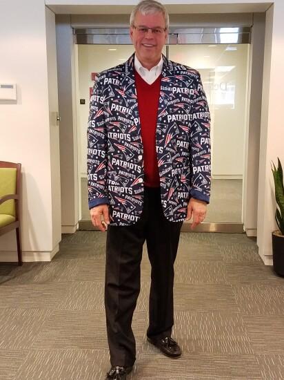 Kingsley Greenland CEO has Patriots fever.jpg